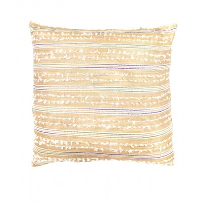 Hand Woven Beige Cushion Cover