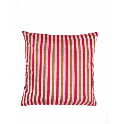 Hand Woven Candy Striped Cushion Cover