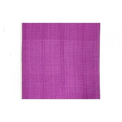 Purple handwoven cotton waffle weave towel