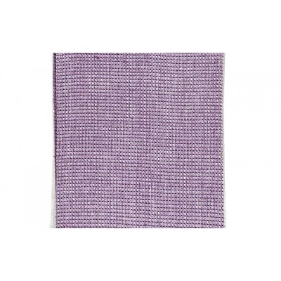 Lilac handwoven cotton waffle weave towel