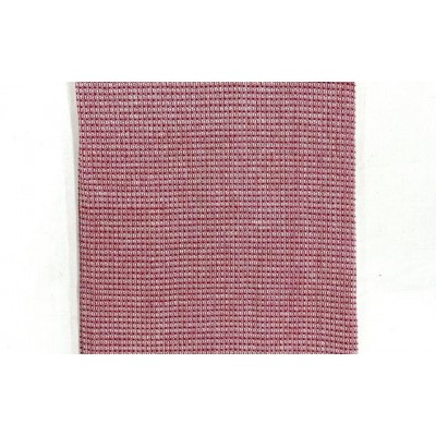 Rouge pink handwoven cotton waffle weave towel