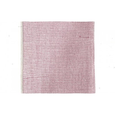 Blush pink handwoven cotton waffle weave towel