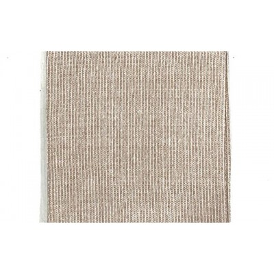 Coffee brown handwoven cotton waffle weave towel